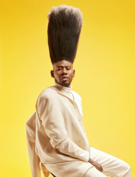 Tallest high top fade 2