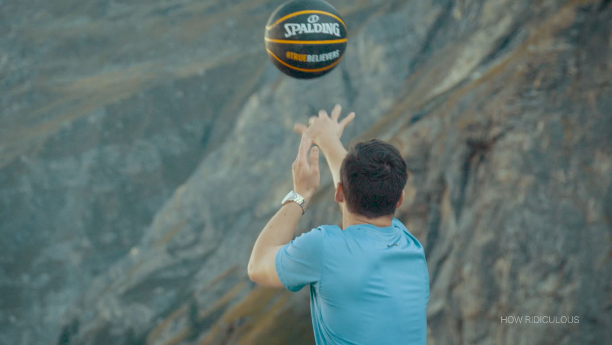 "YouTube-Stars ""How Ridiculous"" brechen Basketball-Rekord in der Schweiz"