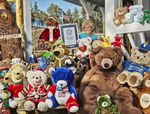 Largest collection of teddy bears 2