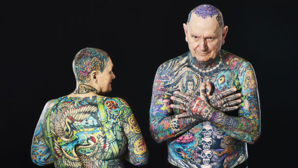 Most tattooed couple 3