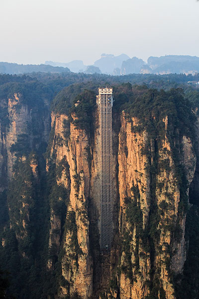 Tallest Outdoor elevator 2