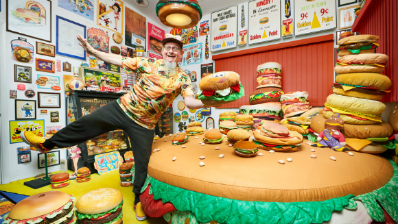 Largest collection of hamburger items